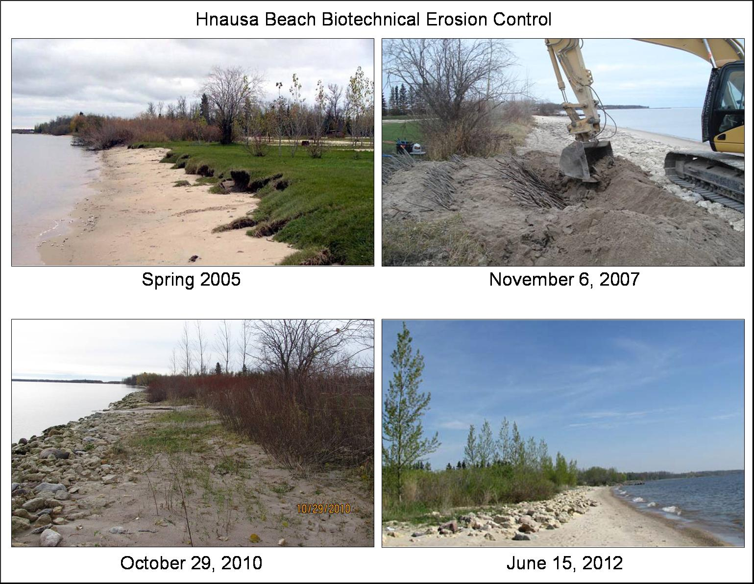 Shoreline Erosion Prevention on Lake Winnipeg | H2O: Ideas ...