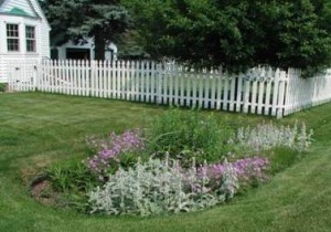 Rain Garden Example - photo from Cuyahoga Soil and Water Conservation District